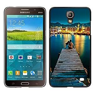 EJOY---Cubierta de la caja de protección la piel dura para el / Samsung Galaxy Mega 2 / --AMOR POR EL MAR