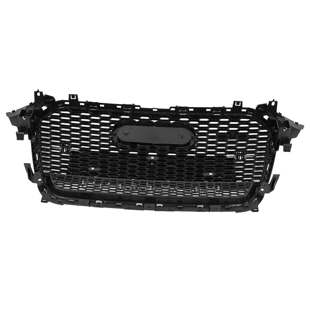 S4 B8.5 Est/ándar plateado con tracci/ón en las cuatro ruedas S4 B8.5 Qiilu rejilla de parachoques delantero,Piezas de modificaci/ón del coche Rejilla central Adecuado para 13-16 A4