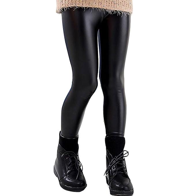 New York migliore nuovo di zecca Toocool - Leggings bambina ragazza pantaloni effetto pelle liquid ...
