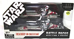 Star Wars: 30th Anniversary Collection Battle Packs: Treachery On Saleucami Action Figure Multi-Pack