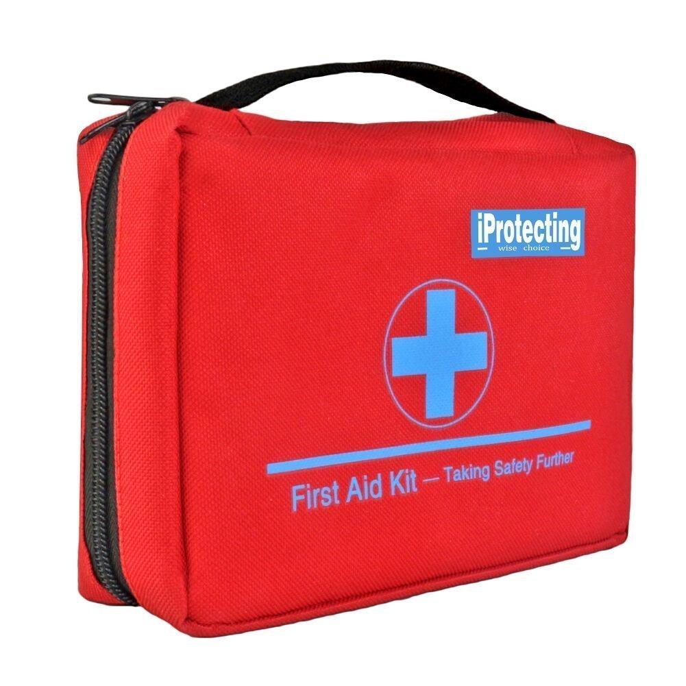 Kit de emergencia 119 piezas - diseño profesional para coche, hogar, camping, caza, viajar, al aire libre o deportes, pequeño y compacto: Amazon.es: Salud y ...