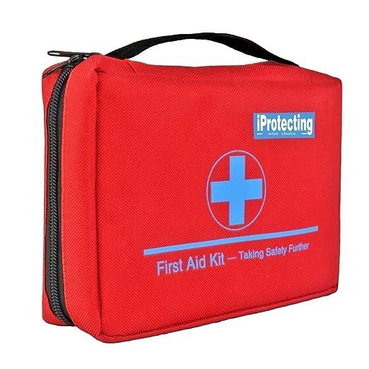 49 opinioni per iProtecting 119 pezzi kit di pronto soccorso,cassetta pronto soccorso-Perfetto