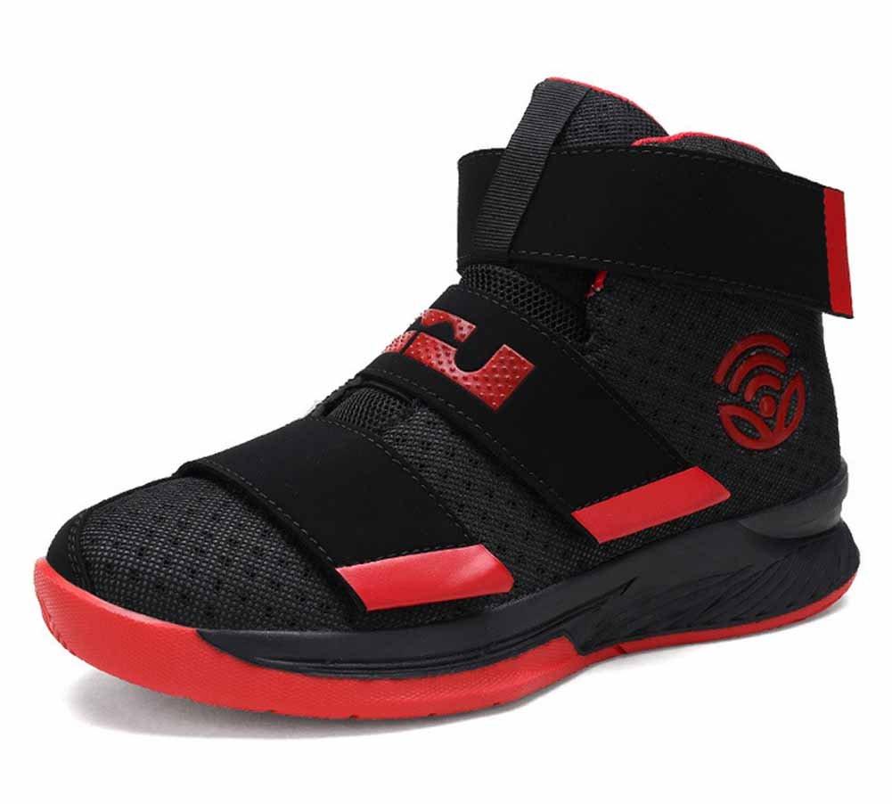 GLSHI Männer Draussen Atmungsaktiv Turnschuhe Dämpfung Basketball Schuhe Trainer