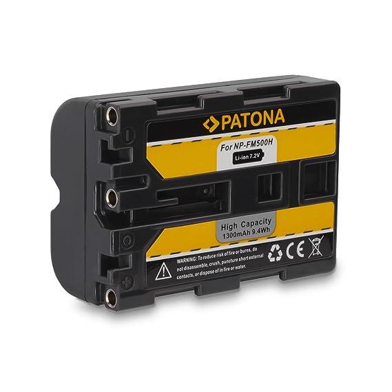 PATONA LCD USB Ladegerät für AKKU Sony DSLR-A450 A500 A550 A560 A580 A700 A850