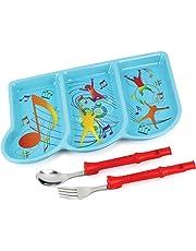 KidsFunwares Me Time Musical Dinnerware Meal Set