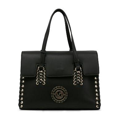 9f1d3adc8e Sac à main effet cartable noir - Versace Jeans: Amazon.fr: Vêtements et  accessoires