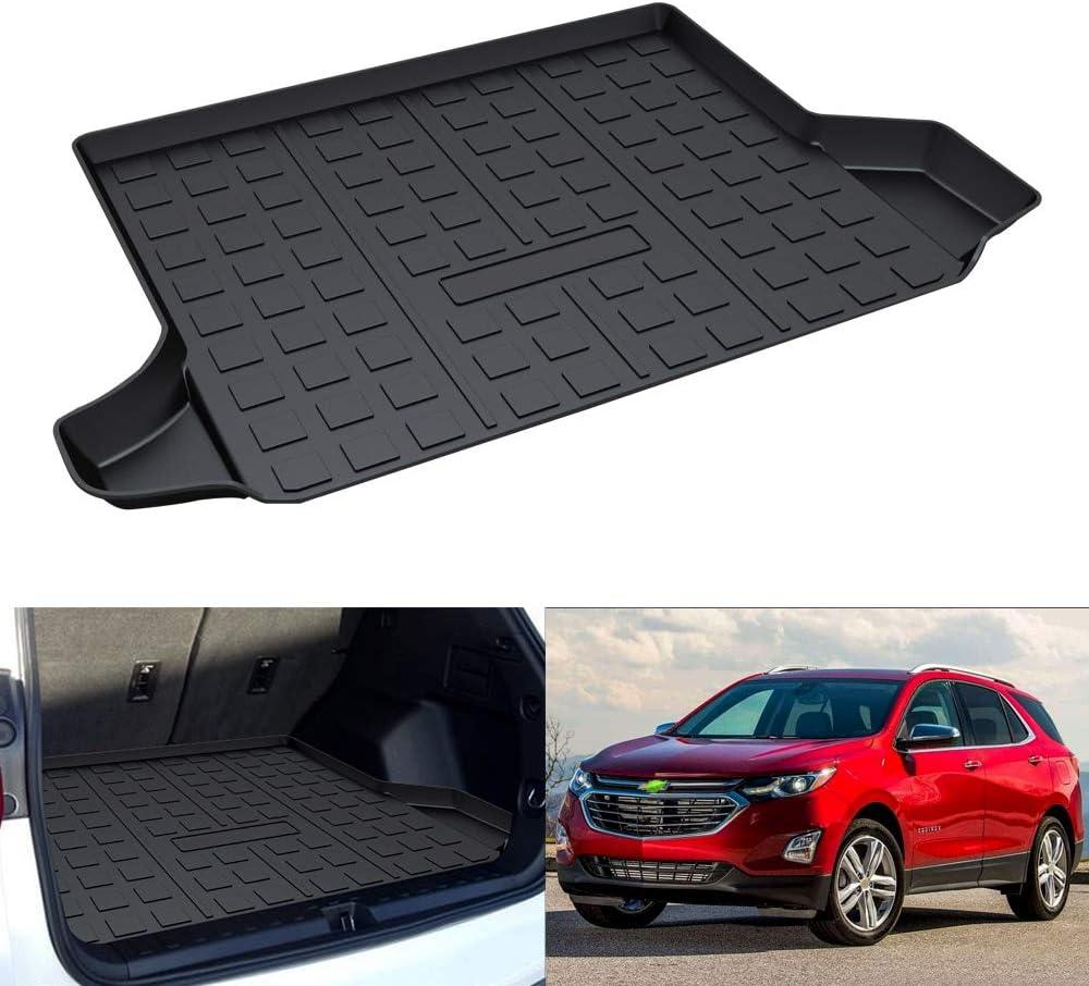 Mixsuper Equinox Cargo Liner Durable Odorless All Weather 3D Rear Trunk Floor Mat for Chevrolet Equinox//GMC Terrain 2018-2020