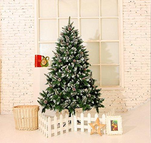 YORBAY Arbol de navidad blanco