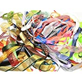 Beautiful Ribbon Bundles 10 x 1 metre lengths Assorted Colours, Widths & Styles! by Libbyshouse