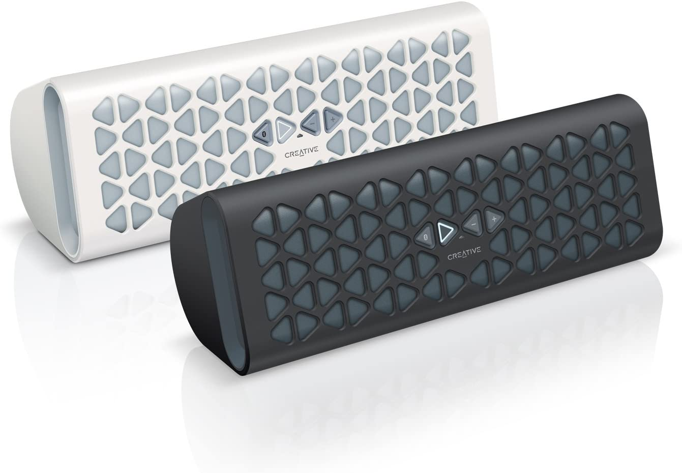 Creative Muvo 20 Portable Wireless Bluetooth Speaker with NFC Black Amp and Dual Flared Bass Port