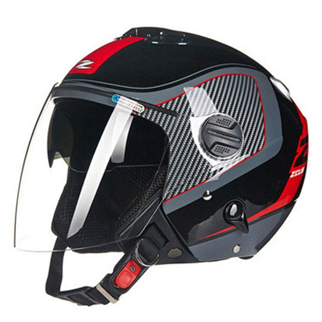 Racing Safety Fahrradhelm für Erwachsene Männer Frauen Poröse Belüftung ECE-Zertifizierung 55-64CM, 1400g
