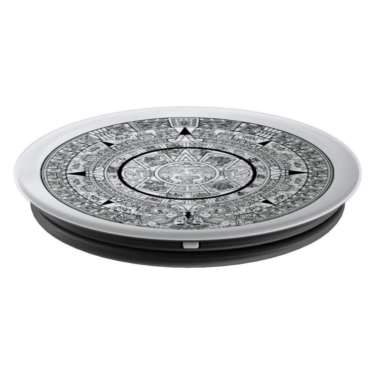 Amazon.com: Mexican style calendario azteca - PopSockets Grip and Stand for Phones and Tablets: Cell Phones & Accessories