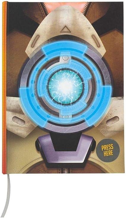 Overwatch Tracer - Cuaderno de notas con luz: Amazon.es: Oficina y papelería