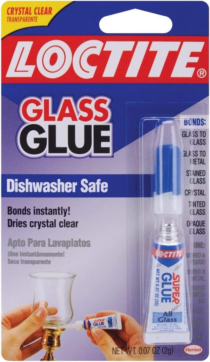 Loctite 233841 Instant Glass Glue, 0.07 Oz.