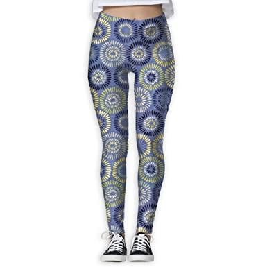 9e3389bb156e46 Image Unavailable. Image not available for. Color: Women's Skinny Yoga Pants  Inspirations Floral Print ...