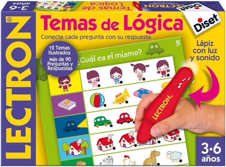 Diset 63882 - Lectron Lapiz Temas De Logica: Amazon.es: Juguetes y ...