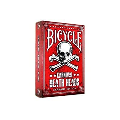 Bicycle Karnival Death Heads Carnage Edition Playing Cards: Toys & Games