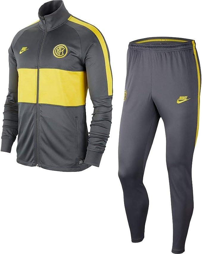 Nike Inter M Nk Dry Strk TRK Suit K Chándal, Hombre: Amazon.es ...