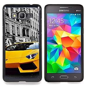 "Qstar Arte & diseño plástico duro Fundas Cover Cubre Hard Case Cover para Samsung Galaxy Grand Prime G530H / DS (Lambo Murcielago"")"