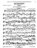 Reger : Quartett Es dur fur zwei Violinen, Bratsche und Violoncell, Op. 109