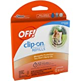 OFF! Clip-On Mosquito Repellent Refills (Pack of 2)