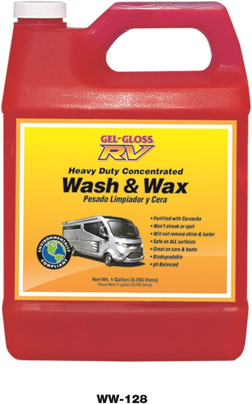 Tr Industries Gel-gloss Rv Wax And Wash