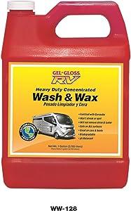 Gel-Gloss RV Wash and Wax - 128 oz. - WW-128