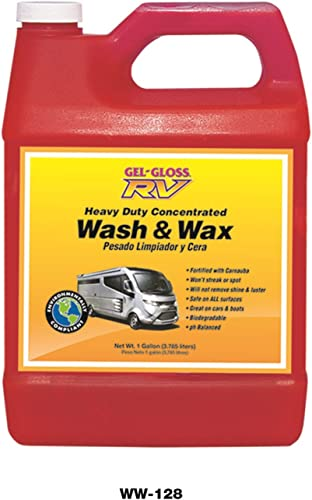 TR Industries Gel-Gloss RV Wash and Wax