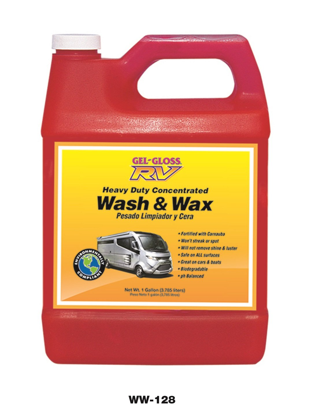 Gel-Gloss RV Wash & Wax