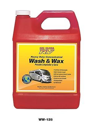 TR Industries Gel Gloss Wash And Wax