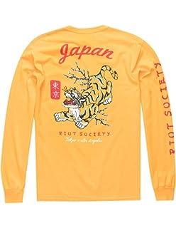b5dfe67007 Riot Society Tiger Aloha T-Shirt | Amazon.com