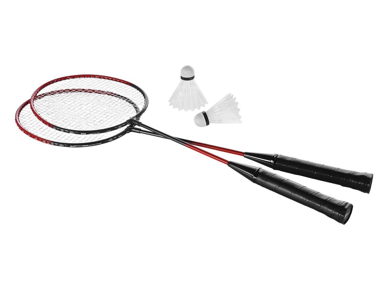 MQ Badminton Set 4 tlg Badmintonschläger Federballspiel Federballschläger ü2ü 795 qm