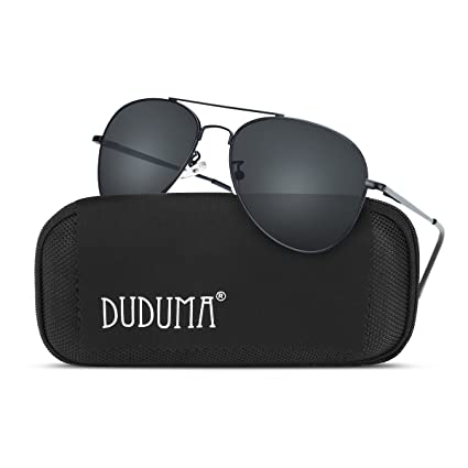 3f462f60fc Duduma Premium Classic Aviator Sunglasses with Metal Frame Uv400 Protection