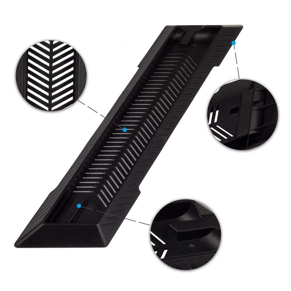 Funihut Soporte para PS4 Slim Soporte Vertical de Soporte de enfriamiento para Playstation 4 Slim
