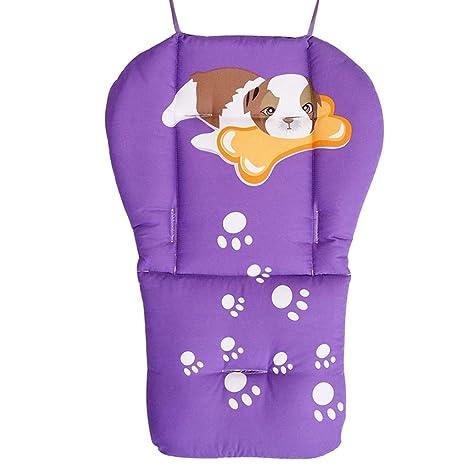 YUENA CARE Cojín Reductor Protector de Asiento Espesado Universal de Cochecito/Silla de Paseo/Trona Impermeable de Dibujos Animados para Bebé #1
