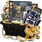 Art of Appreciation Gift Baskets Decadent Gourmet Food Lovers with Smoked Salmon