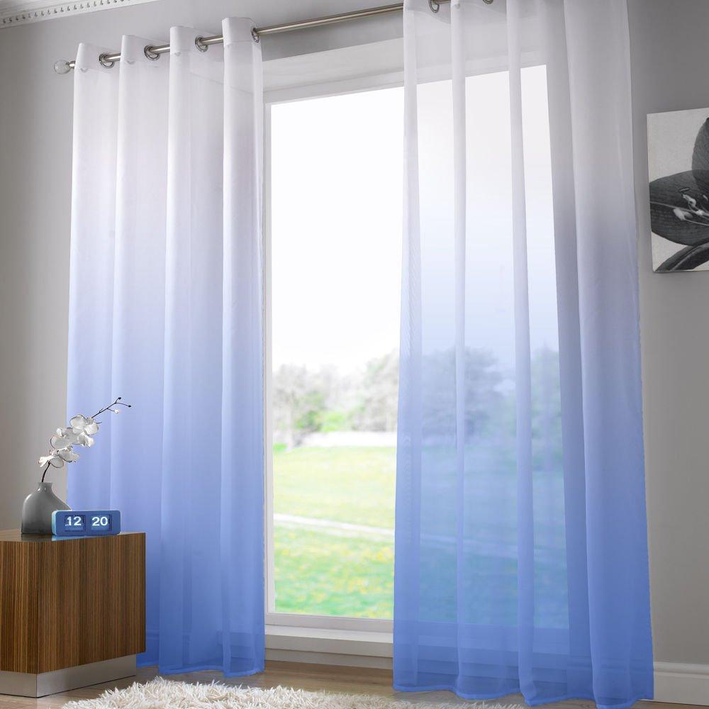 Elegante y estilosa cortina de gasa. Medida 147x229cm.