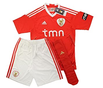 new concept 239f5 e9e01 adidas Benfica Home Full Kit-Kids (15/16 YEARS OLD): Amazon ...