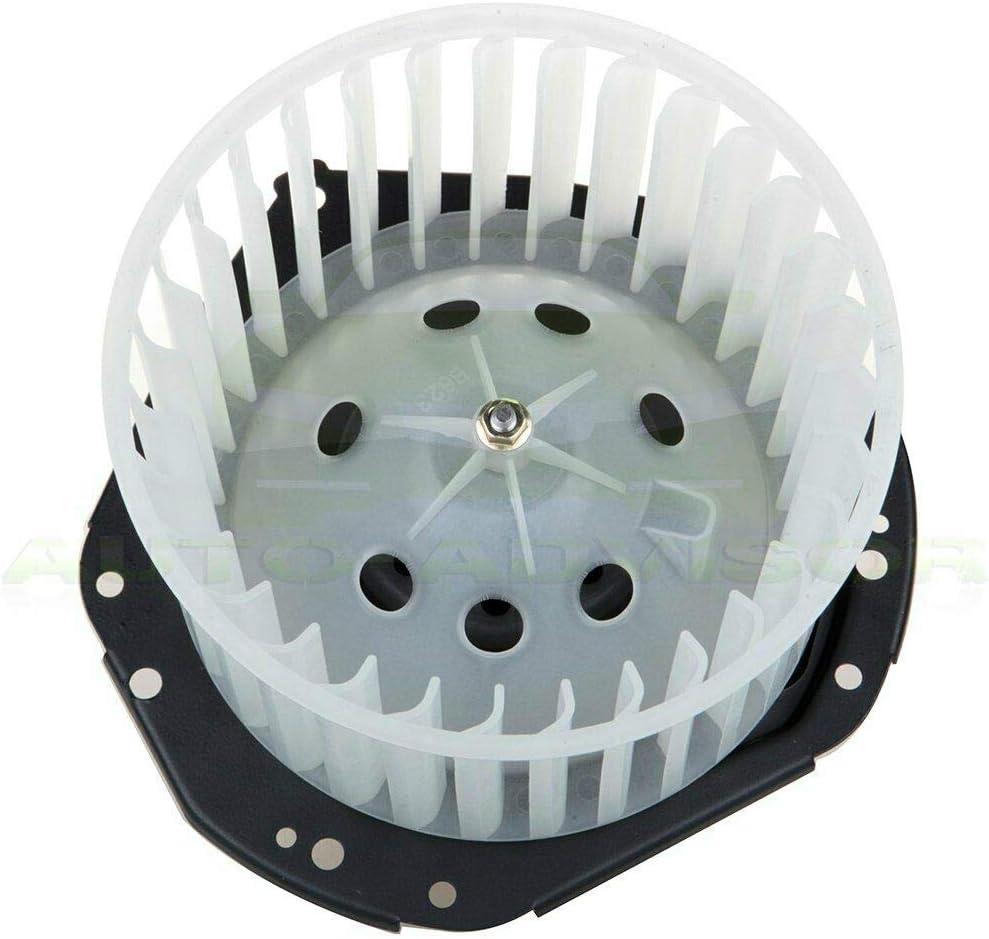HVAC Heater Blower Motor W//Fan for Car ABS Plastic 3067867 3537854 US