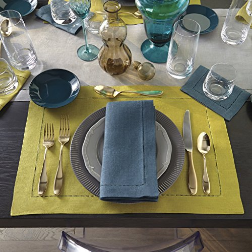 Festival by Sferra - Oblong Tablecloth 66x106 (Kiwi) by Sferra