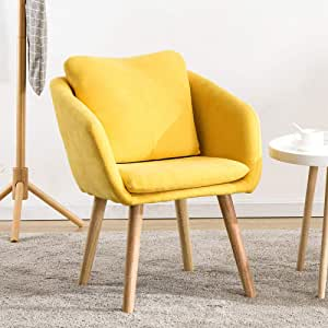 Amazon.com - XLLLL Dining Chair Natural Solid Wood Legs ...
