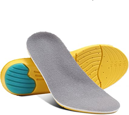 Men Cushioning Running Arch Support Insert Sport Shoe Insole Pad Pain Relief US