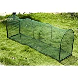 "PawHut 72"" Folding Outdoor Safety Cat Net Enclosure for Decks Patios Balconies"
