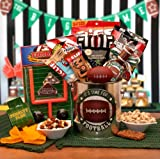 It's Football Time! - Football Themed Gift Pail - Makes a Great Fathers Day, Birthday, or Any Occasion Gift
