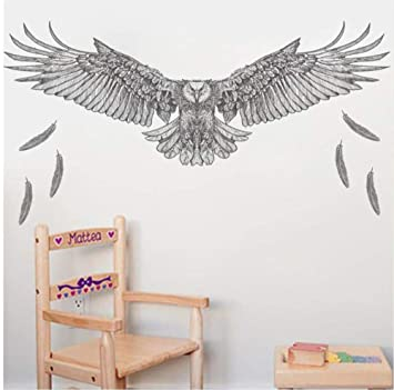 Amazon.com: Wsqyf Cartoon Eagle Eagle Wall Sticker for Kids ...