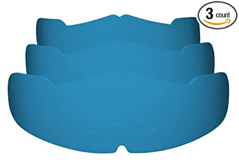 10358f2b 3Pk. Light Blue Manta Ray baseball caps crown inserts for low profile caps|  fitted
