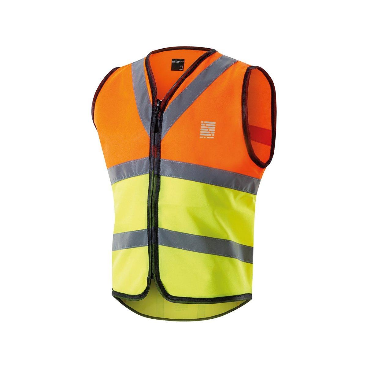 Altura Men's Nightvision Safety Vest - Hi Viz Yellow, Large