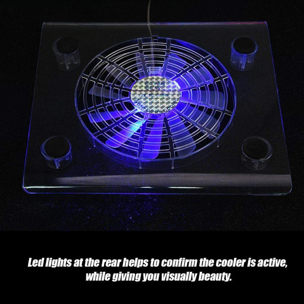 Xbox one Ultra Quiet Cooler Stand with LED RGB Lights Light Weight Gaming Cooling Stand Cooling Base for PS4 Notebook PS3 Tonysa Cooling Pad for PS4//PS3//Laptop