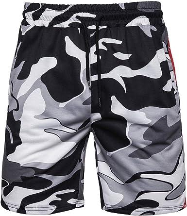 Lurcardo Pantalones Cortos Hombre, Pantalones Hombre Verano Moda ...