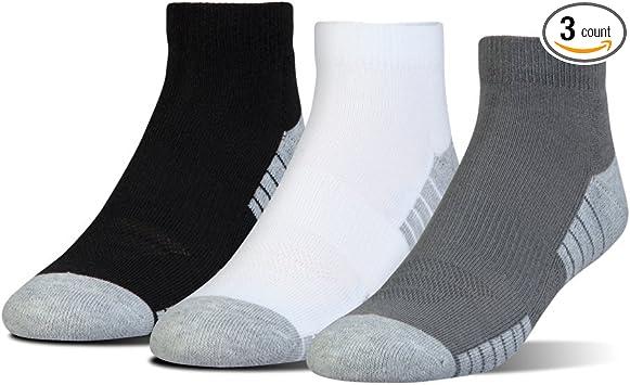 Under Armour Mens UA Heatgear Tech Low Cut Cool Light Ventilated Socks